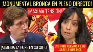 ALMEIDA y la DELEGADA DEL GOBIERNO se ENZARZAN en directo por la gestión de Sánchez ⚡¡SE LÍA PARDA!⚡