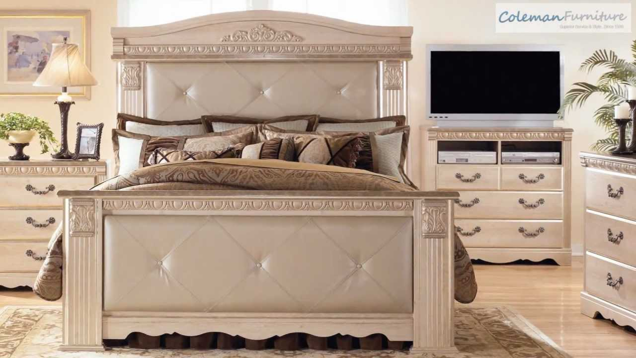 silverglade bedroom collection from signature design by ashley youtube. Black Bedroom Furniture Sets. Home Design Ideas