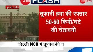 Fresh thunderstorm warning in Delhi-NCR, wind speed to hit 50-60 Kmph, says IMD