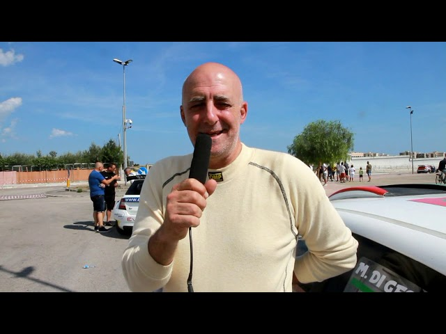 DI GESU MAURIZIO-GIOVENALE ELENA esterne 8° RALLY PORTA DEL GARGANO 2018 By TOP VIDEO