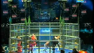 AAA: 10-man cage match for control of AAA, 2009/06/13