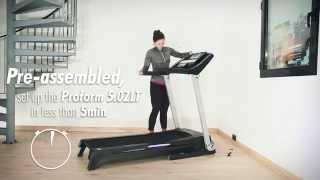 pro form 5 0 zlt folding treadmill