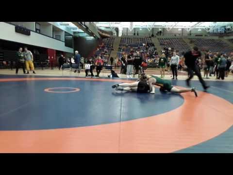 2016 Dino Invitational: 72 kg Lucas Hoffert vs. Braden Gabrielson