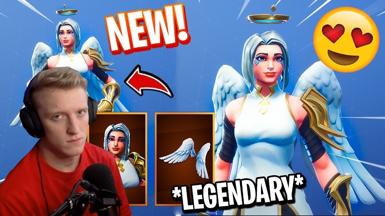 Fortnite Ark Angel Skin