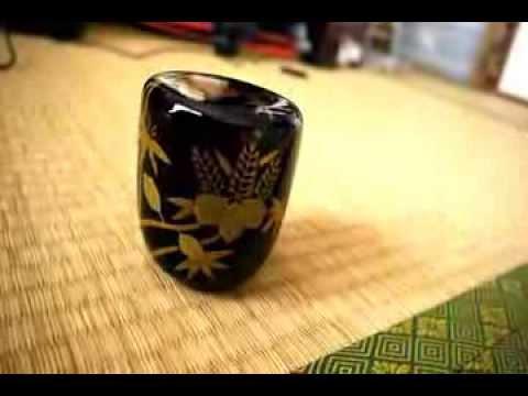 Natsume japanese lacquer, maki-e by Yamashita taien