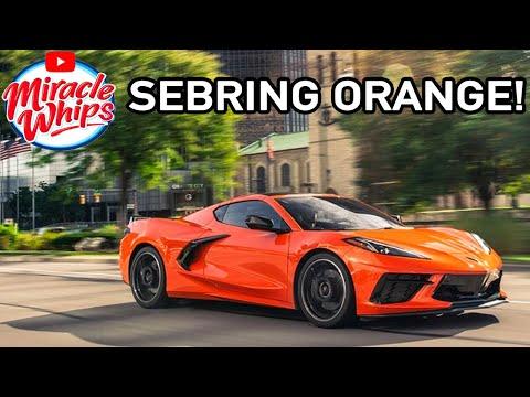 HD Wallpaper 2020: 2020 Corvette Orange