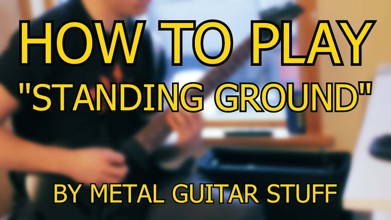 learning how to play metal guitar
