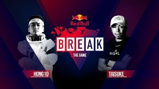 BREAK THE GAME | Hong10 vs. Taisuke