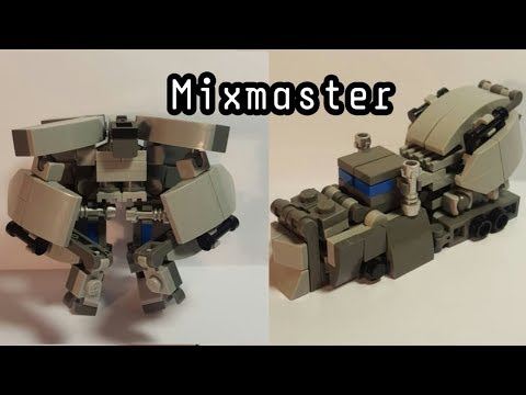 "Mixmaster from film ""Transformers"" (LEGO MOC)!"