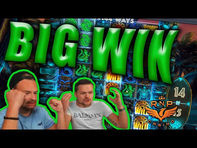 Big Win on Tahiti Gold Slot - Casino Stream Big Wins