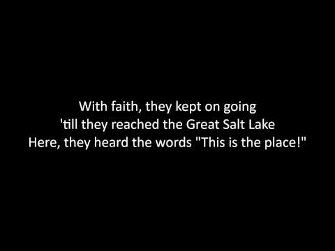 Utah, This is the Place Lyrics