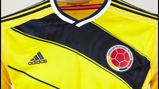 Camiseta Adidas de la Selección Colombia para el 2014