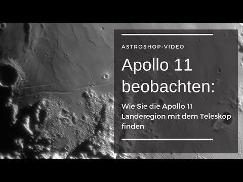 Apollo 11 beobachten: