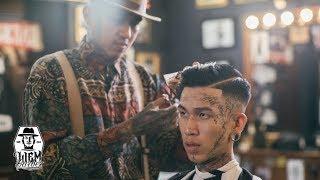 Baixar High Skin Fade and Pompadour | Liem Barber Shop's Collection