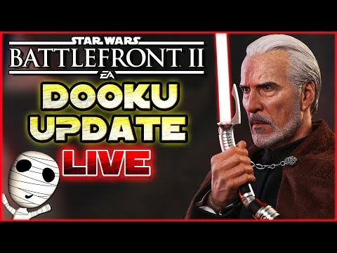 Count Dooku Update! 🔴 Star Wars: Battlefront II // PS4 Livestream thumbnail