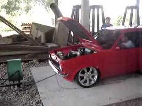 Chevette 1.4 Turbo Dinamômetro