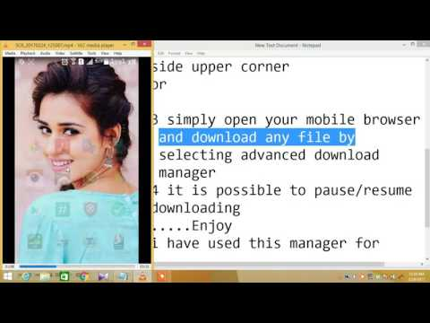 How To Download Big Files On Any Android Mobile Easily