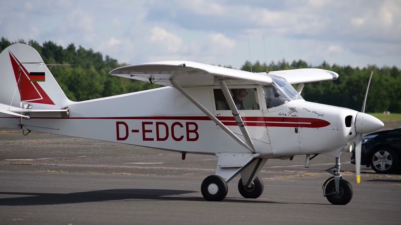 Piper PA-22-108 Colt Landung und Start 2 9 2017