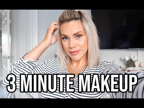 3 MINUTE MAKEUP ROUTINE   QUICK AND EASY MUM MAKEUP