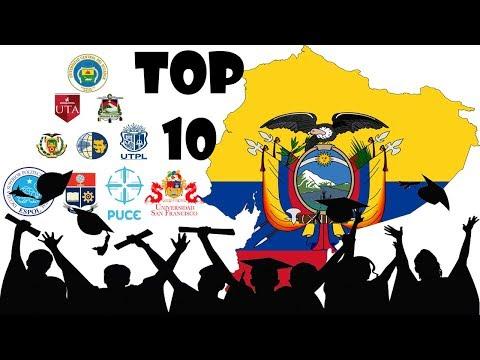 Las MEJORES UNIVERSIDADES Del ECUADOR 2020
