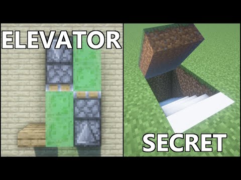 Minecraft: 10 Simple Redstone Builds! #3