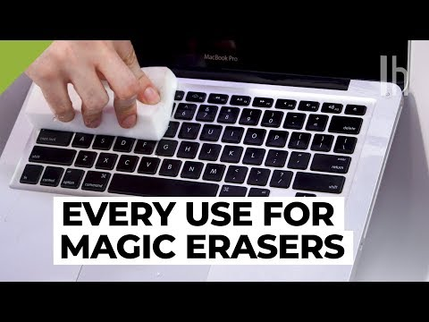 Other Uses for Magic Erasers