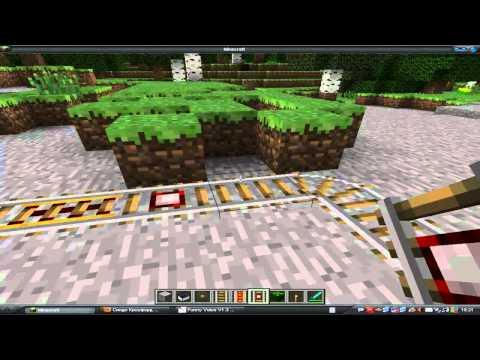 Как построить железную дорогу в Minecraft