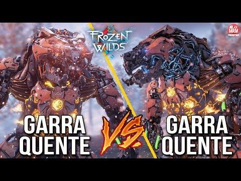UFC DAS MÁQUINAS!   GARRA QUENTE vs GARRA QUENTE   HORIZON ZERO DAWN THE FROZEN WILDS