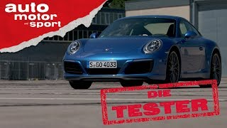 Porsche 911 Carrera S: Bye, bye Saugmotor! - Die Tester   auto motor und sport