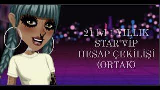 21 LVL 1 YILLIK STAR VİP HESAP ÇEKİLİŞİ//MSP BERİLLE ORTAK