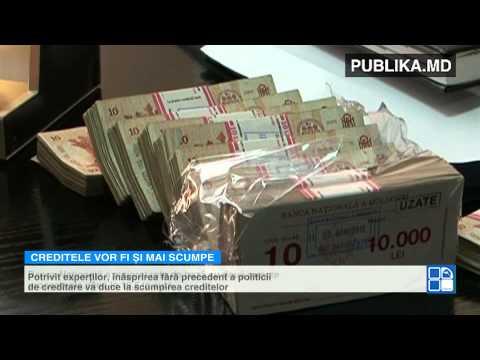 Record istoric pentru Moldova Veşti proaste de la Banca Naţională