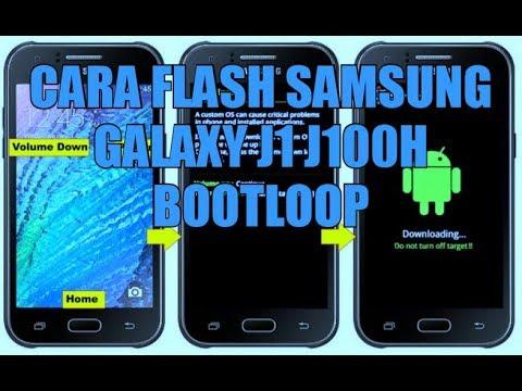 Repair Boot Loop On Logo After Flash Samsung Galaxy J1
