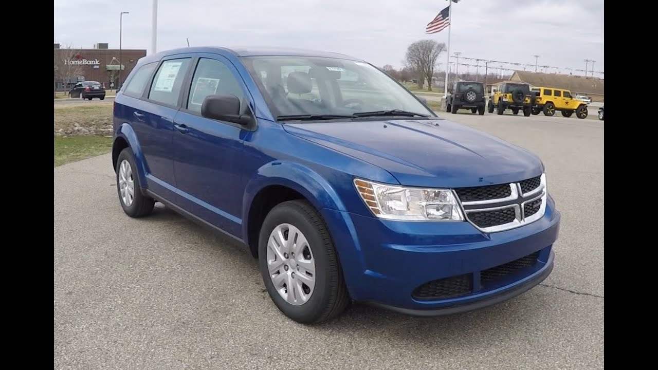 2015 Dodge Journey American Value Package Blue Crossover