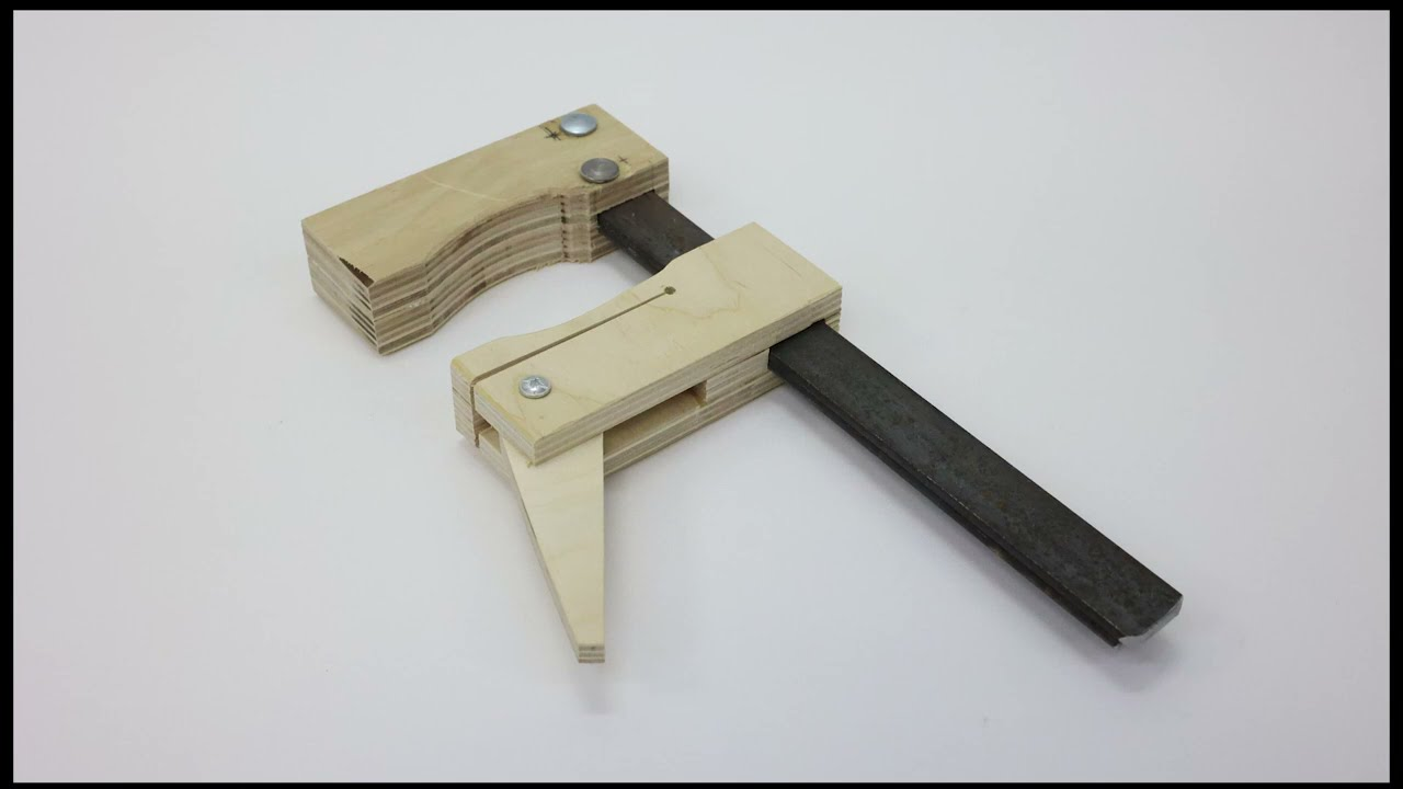 Now you don't have to buy clamps! See how you can make them