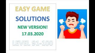 Easy Game Answers Level 91 92 93 94 95 96 97 98 99 100 Solutions Walkthrough