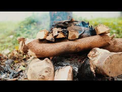 cara paling mudah dan gampang membuat api unggun