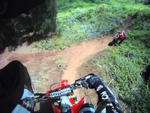 Dirt Bike Ride 09 02 12 Kahuku Hawaii Unreal Ride