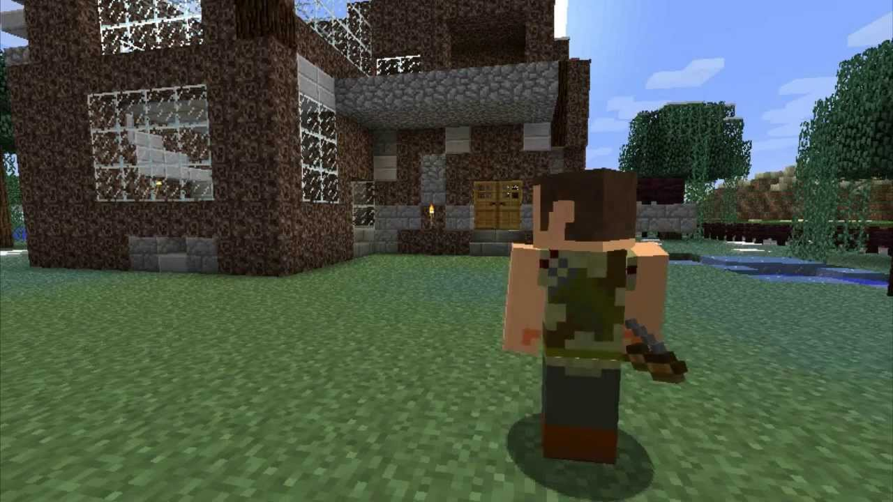 Minecraft Skins The Walking Dead Daryl YouTube - Skins para minecraft the walking dead