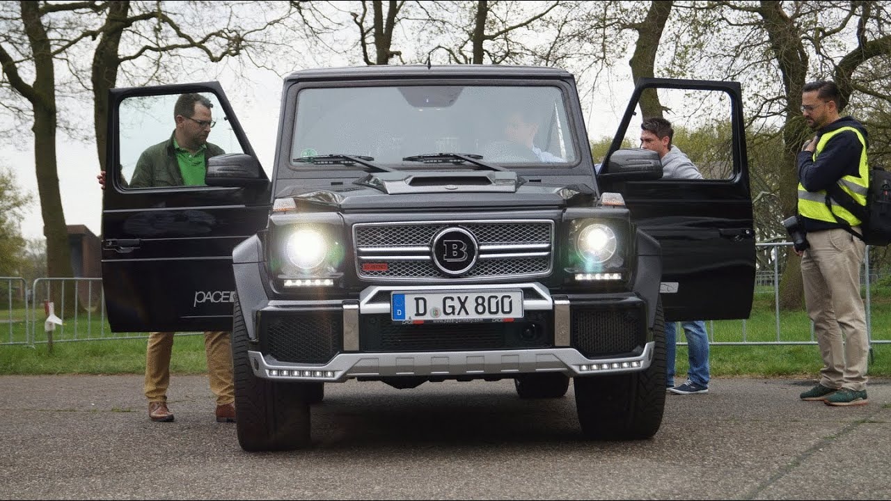 Mercedes benz g class amg sound fiat world test drive for Mercedes benz g wagon v12