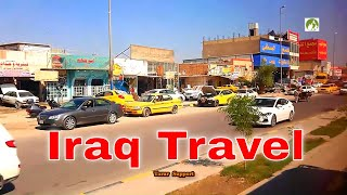 Iraq Travel Najaf To Kufa City Road Trip By Bus Middle East 2020
