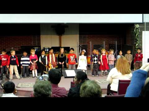 Sriram-Grace Garden Preschool Christmas 2011 Part 2