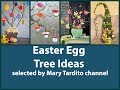 Beautiful Easter Egg Trees Ideas - Spring Decorating Ideas - Easter Decorations Ideas