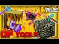 Minecraft - Overpowered Tools with Only one Command Block (Treecapitator, Magnet & more!)