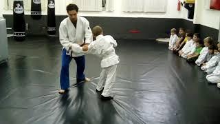 Видео урок Суми Отоши в Детской секции Айкидо.