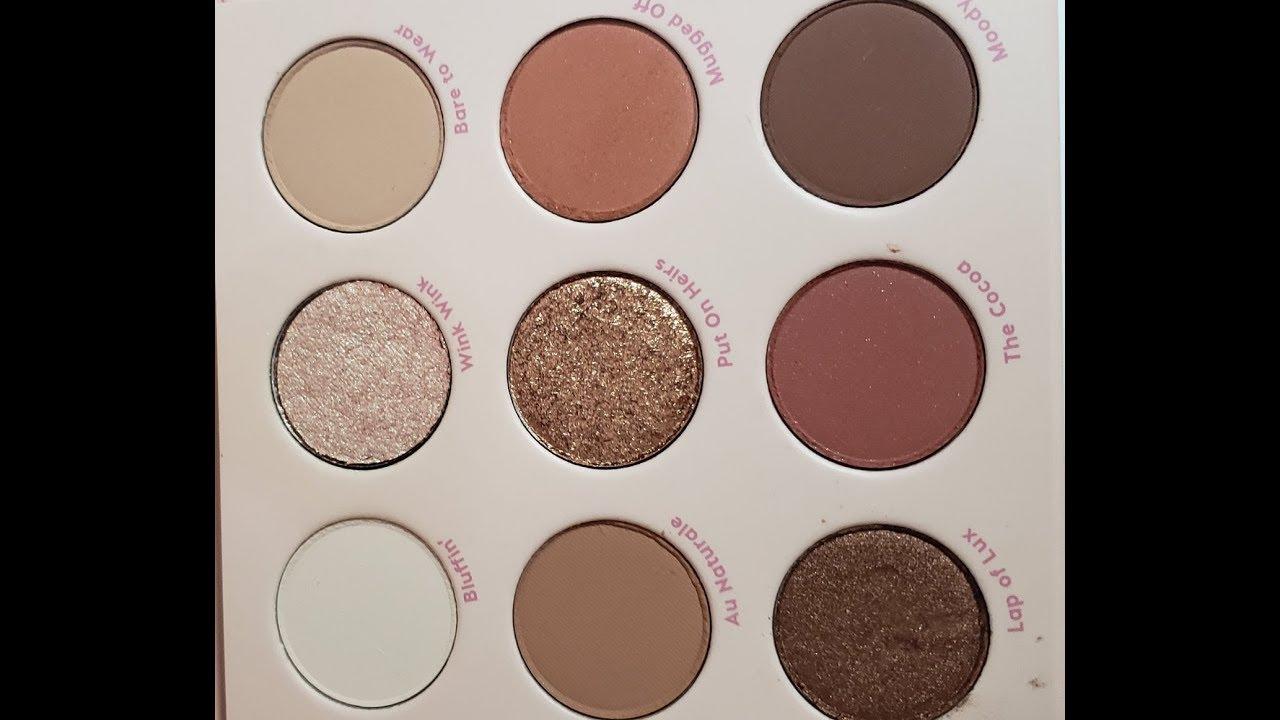 Bảng mắt ColourPop Nude Mood Eyeshadow Palette
