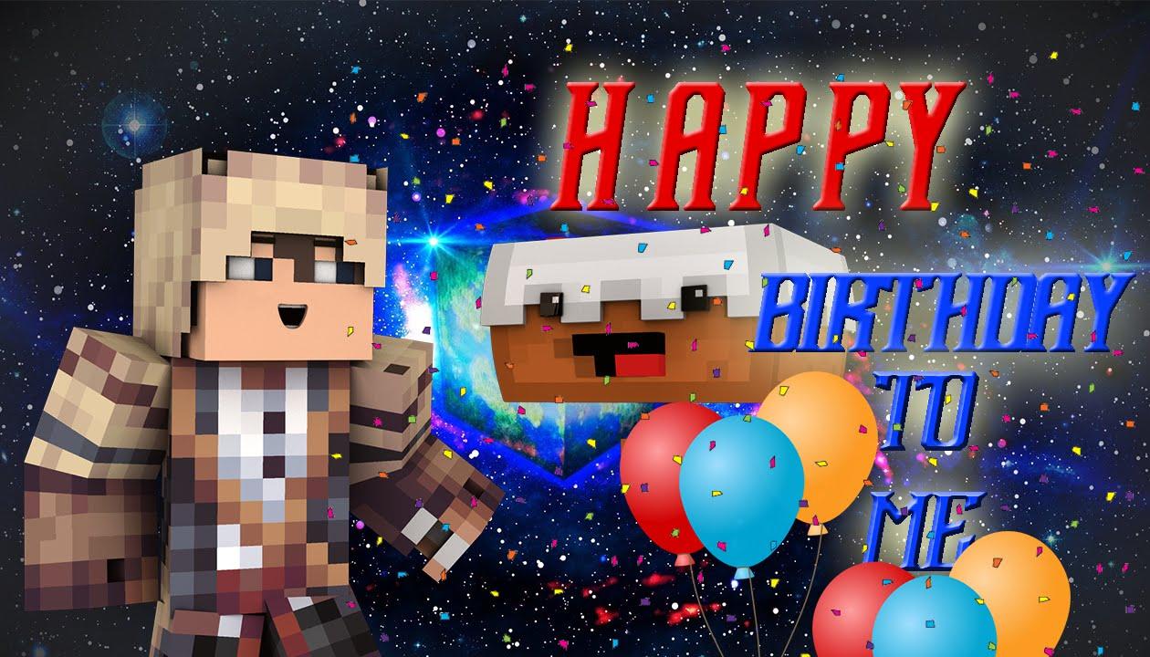 ..]minecraft pethe birthday cardbday, Birthday card