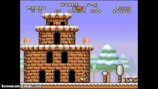 Super Mario Brothers Deluxe - Playing super mario bros hack and some fails XD - User video