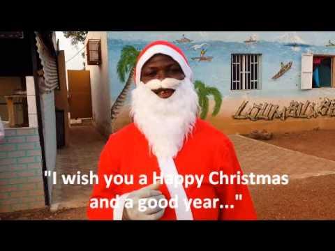 Father Christmas in Ouagadougou