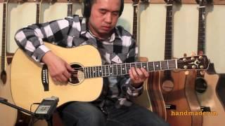 Demo ORION HD-402 - handmade guitar