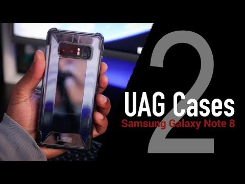 Samsung Galaxy Note 8 UAG Case Review